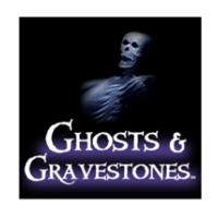 ghosts and gravestones logo